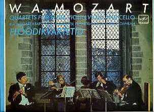 Mozart - Quartets For Flute, Violin, Viola And Cello/ Flöödikvartetid