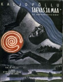 Taevas ja maa. 25 reproduktsiooni metsotintosarjast. Heaven and earth. 25 Prints of the Mezzotint Series