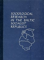 Sociological research in the Baltic Soviet Republics