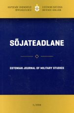 Sõjateadlane 2016/1. Estonian journal of military studies
