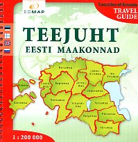Teejuht eesti maakonnad. Viron maakuntien opas. Travel guide to the counties of Estonia. Путеводитель по уездам Эстонии