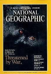 National Geographic 1995 October. Vol. 188. No. 4