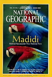 National Geographic 2000 March. Vol. 197. No. 3