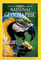 National Geographic 1994 January. Vol. 185. No. 1