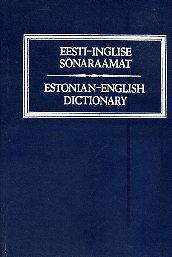 Eesti-inglise sõnaraamat. Estonian-English dictionary