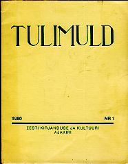 Tulimuld 1980 Nr. 1