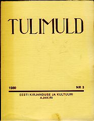 Tulimuld 1980 Nr. 3