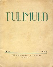 Tulimuld 1954 Nr. 2