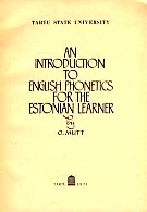 An intruduction to English phonetics for the estonian learner