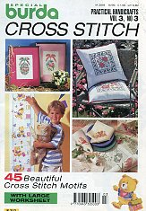 Burda Special E 313. Cross Stitch