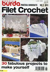 Burda Special E 345. Filet Crochet