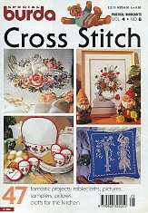 Burda Special E 394. Cross Stitch
