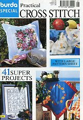 Burda Special E 433. Cross Stitch