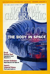 National Geographic 2001 January. Vol. 199. No. 1