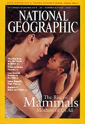National Geographic 2003 April. Vol. 203. No. 4