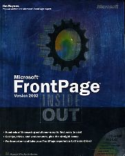 Microsoft FrontPage inside out. Version 2002