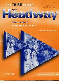 New headway. Intermediate workbook with key