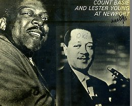 Count Basie and Lester Young ‎ At Newport