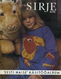 7ef0ba689c6 Anne Aare (koostaja) Eesti Naise käsitööalbum Sirje 1992/4, 1992 ...