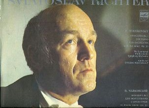 Sviatoslav Richter, P. Tchaikovsky* ‎– Concerto No. 1 For Piano And Orchestra