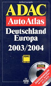 ADAC AutoAtlas Germany, Europe 2003/2004