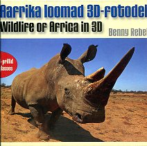 Aafrika loomad 3D-fotodel. Wildlife of Africa in 3D