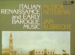 Italian Renaissance And Early Baroque Music