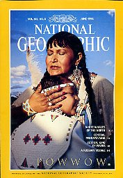 National Geographic 1994 June. Vol. 185. No. 6