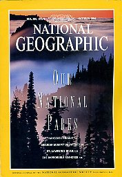 National Geographic 1994 October. Vol. 186. No. 4