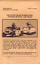 Drills for the Antiarmor (Tow) Platoon,Section and Squad