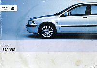 Volvo S40/V40 Owner's Manual