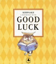 Keepsake. Good luck. A reference book