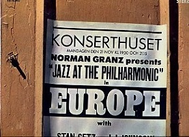 Norman Granz Presents ''Jazz At The Philharmonic'' In Europe