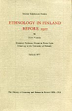 Ethnology in Finland before 1920