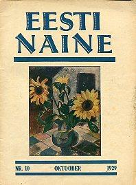 533b1169fe3 Naiste ja kodude ajakiri. 1929/10 (65). VI