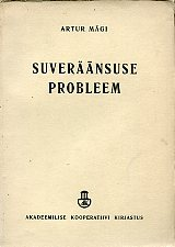 Suveräänsuse probleem (The problem of sovereignty)