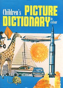 Children´s picture dictionary in colour
